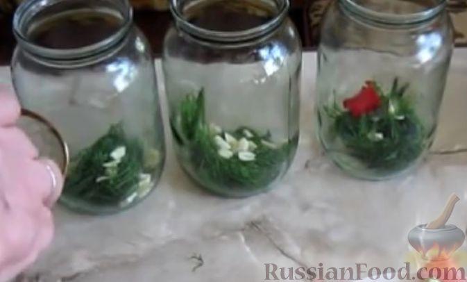 Фото приготовления рецепта: Маринованный арбуз (на зиму) - шаг №2