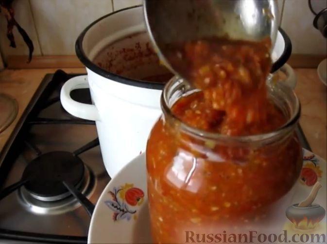 аджика рецепт с яблоками и помидорами на зиму рецепт приготовления