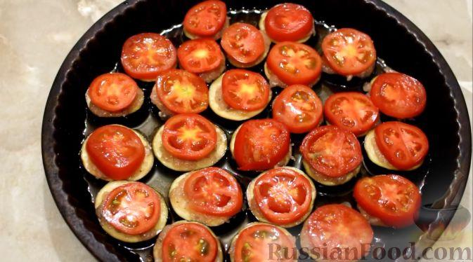 Баклажаны запеченные в духовке рецепт с пошагово в