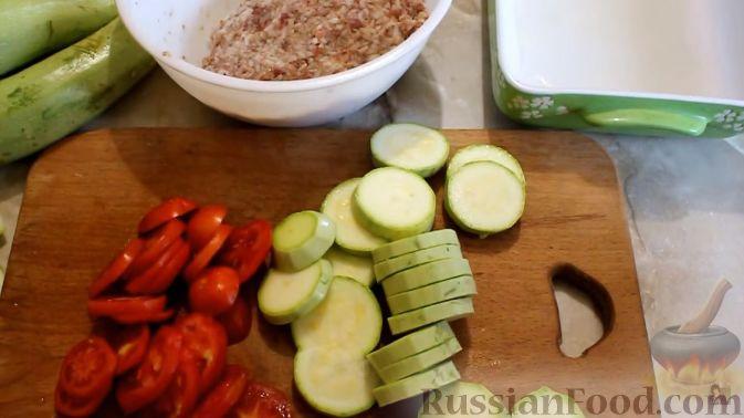 Кабачки и баклажаны, запеченные в духовке новые фото