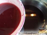 Фото приготовления рецепта: Кисель из свежих ягод - шаг №13