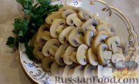 "Фото к рецепту: Салат ""Ананас"" с шампиньонами"