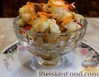 Фото к рецепту: Цветная капуста по-корейски