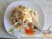 "Фото к рецепту: ""Интересные"" спагетти или спагетти с чесноком"