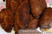 Фото к рецепту: Мясные зразы с грибами