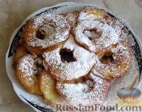 Фото приготовления рецепта: Яблоки в кляре - шаг №11