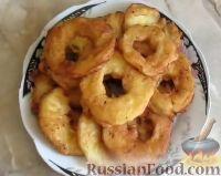 Фото приготовления рецепта: Яблоки в кляре - шаг №10