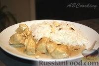 Фото к рецепту: Курица корма (Chicken Korma)