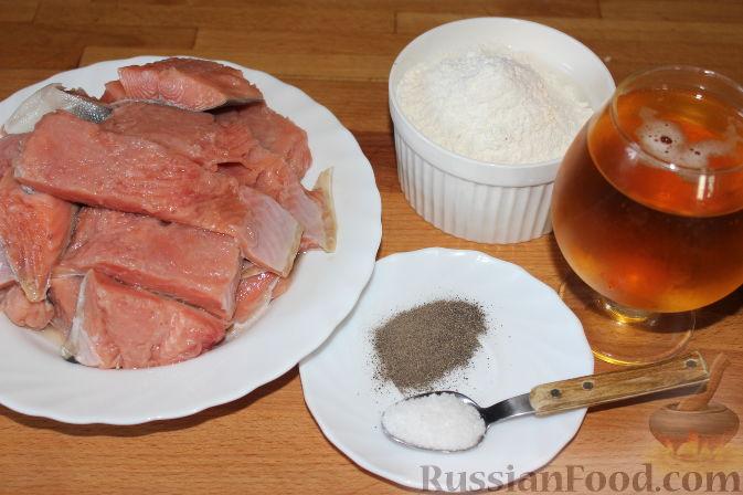 Горбуша в кляре на пиве рецепт с пошагово