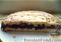 Фото к рецепту: Быстрый пирог с ягодами