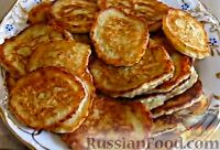 Фото к рецепту: Капустные оладьи на кефире