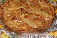 Фото к рецепту: Баварский грушевый пирог
