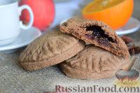 Фото к рецепту: Печенье с ежевикой