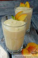 Фото к рецепту: Парфе с персиком и медом
