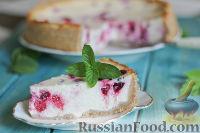 Фото к рецепту: Чизкейк с ягодами, на песочном тесте из цельнозерновой муки