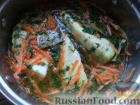 Фото к рецепту: Маринованная молодая капуста