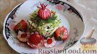 Фото к рецепту: Салат из ранней капусты с редисом
