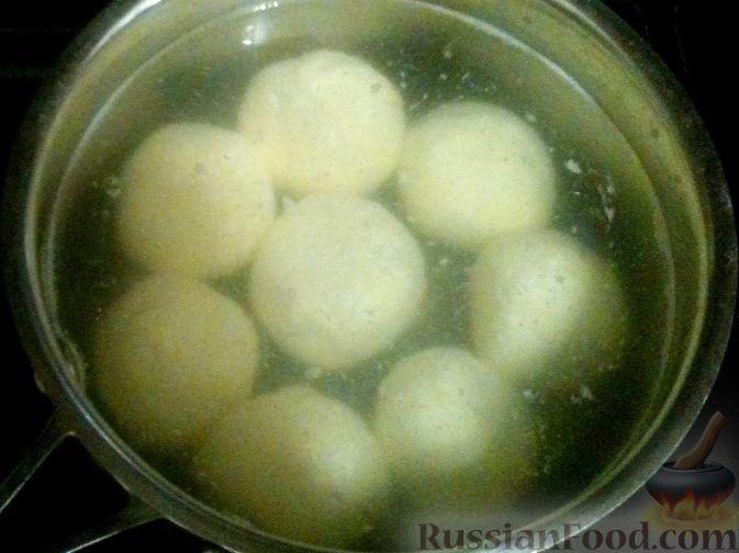 Фото приготовления рецепта: Запеканка из пекинской капусты с сыром - шаг №12
