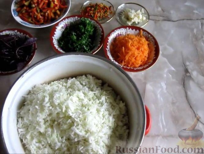 Фото приготовления рецепта: Малосольная капуста - шаг №2