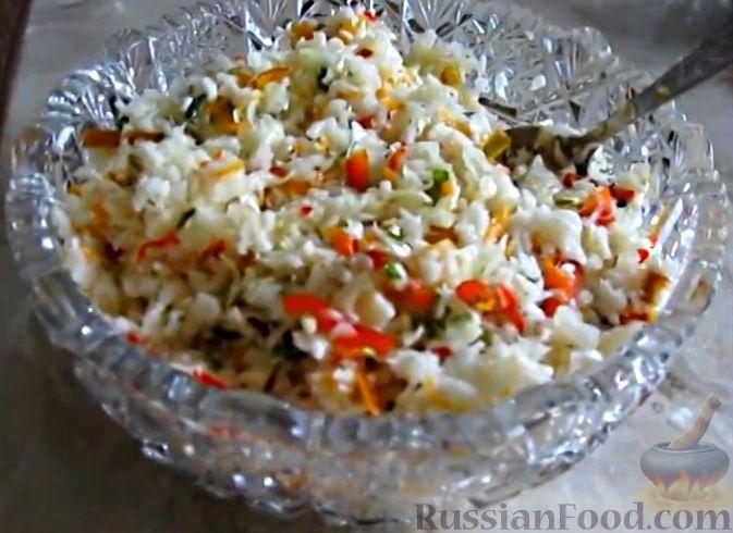 Фото к рецепту: Малосольная капуста