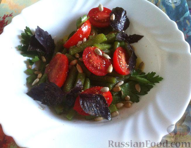 рецепт салата нежный из помидоров