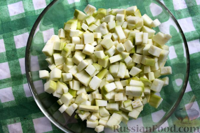 рецепт салата из баклажанов 10 на 10