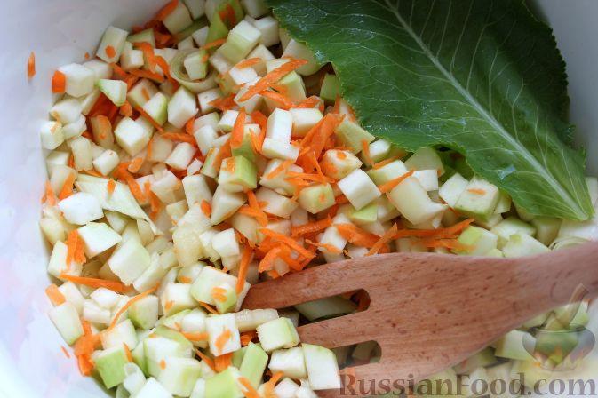 Салат из кабачков рецепты с без стерилизации