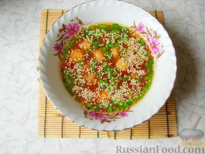 Фото приготовления рецепта: Куриные котлеты в томатном соусе, в духовке - шаг №12