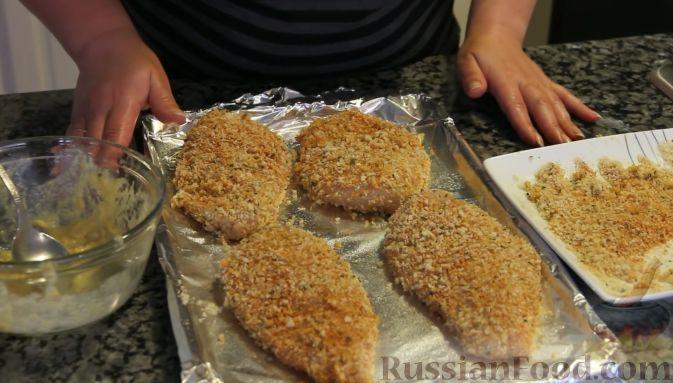 Отбивные куриные в сухарях рецепт 22