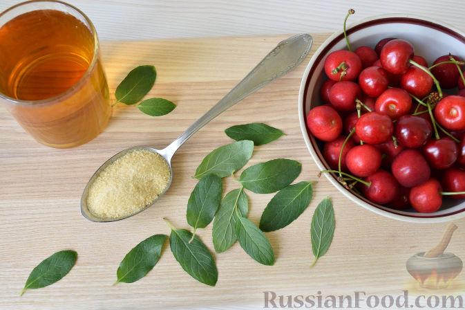 Фото приготовления рецепта: Десерт c черешней - шаг №1