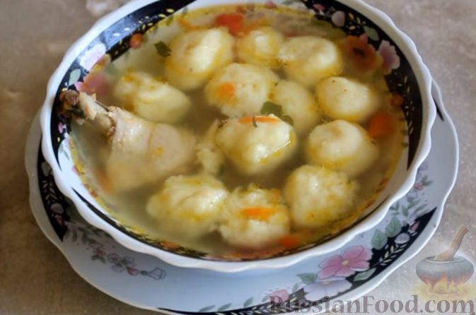 Суп из куриных крылышек с рисом рецепт с фото