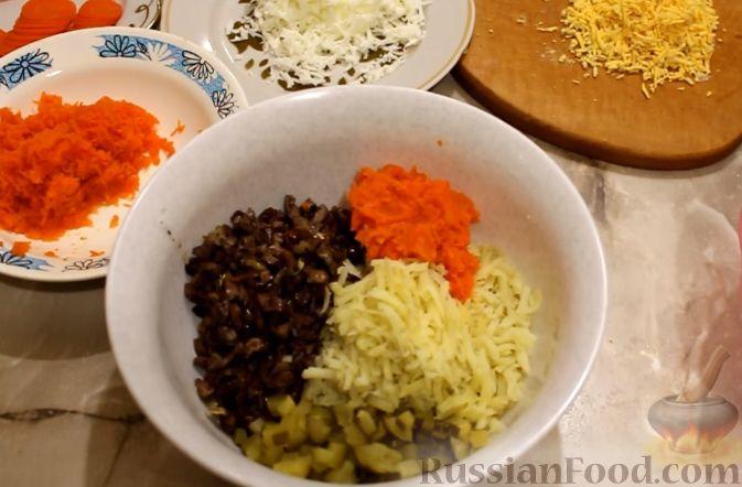 рецепт салата из куриными сердцами