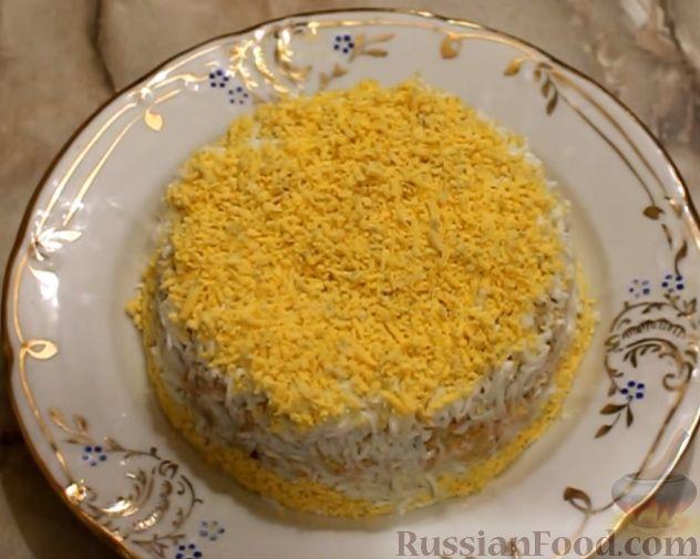 салат юбилейный рецепт с фото