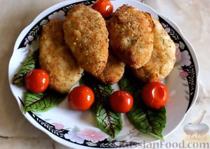 куриный фарш рецепты котлет без яиц