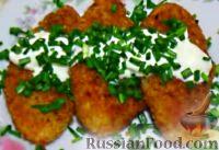 Фото к рецепту: Капустные котлеты (без яиц)