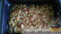 Фото к рецепту: Запеканка картофельная с помидорами и сыром
