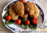 Фото к рецепту: Куриные котлеты без яиц (в духовке)