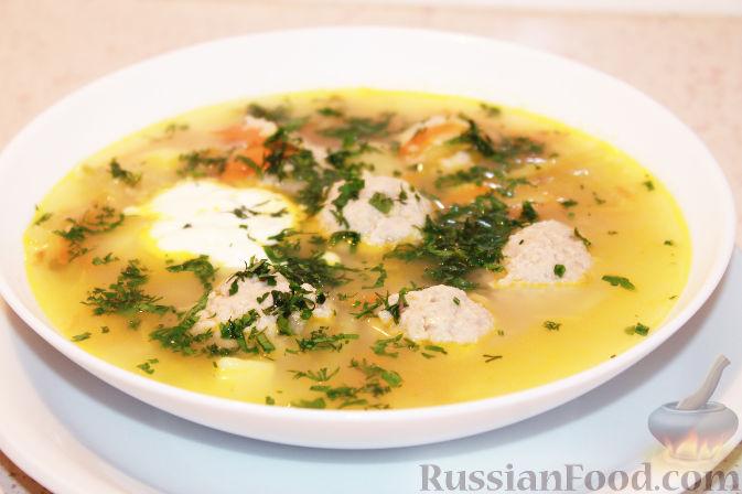 суп с пшеном и фрикадельками рецепт с фото