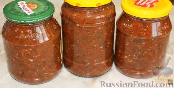 Фото к рецепту: Аджика из слив (на зиму)