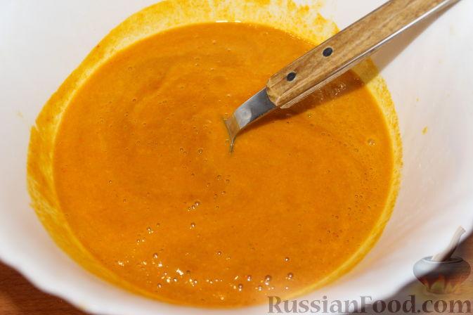 Фото приготовления рецепта: Облепиховый «мед» на зиму (в мультиварке) - шаг №6