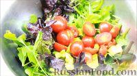 Фото приготовления рецепта: Салат с креветками - шаг №9