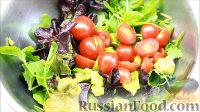 Фото приготовления рецепта: Салат с креветками - шаг №10