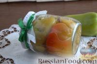 Фото к рецепту: Перец, печенный в мультиварке, на зиму