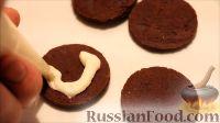 """Фото приготовления рецепта: Печенье """"Oreo"""" (Орео) в домашних условиях - шаг №16"""