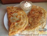 Фото к рецепту: Чебуреки крымские