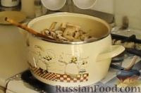 Фото приготовления рецепта: Крем-суп из шампиньонов - шаг №4