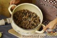 Фото приготовления рецепта: Крем-суп из шампиньонов - шаг №6