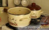Фото приготовления рецепта: Крем-суп из шампиньонов - шаг №8