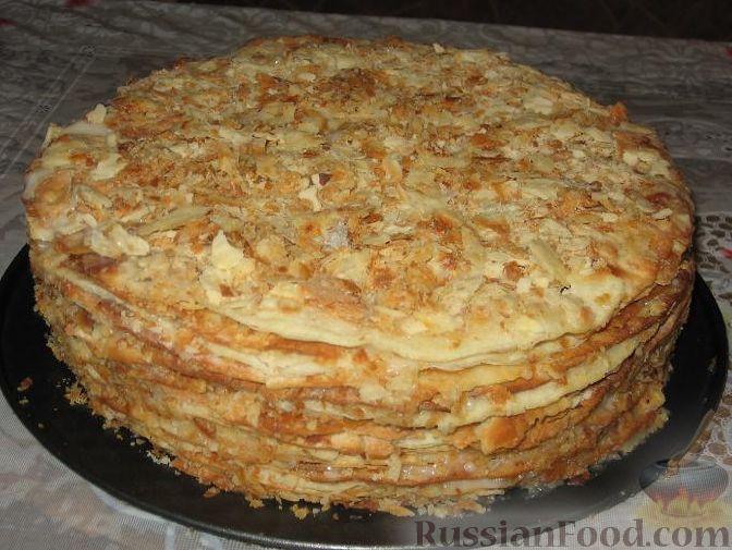 как приготовить торт наполеон от палыча