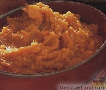 Рецепт Картофельное пюре из батата